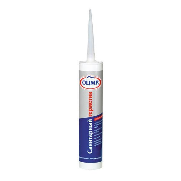 OLIMP Sanitarnyj silikonovyj germetik