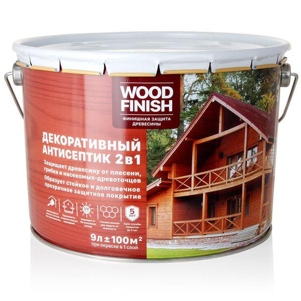 Wood Finish – dekorativnyj antiseptik dlya drevesiny
