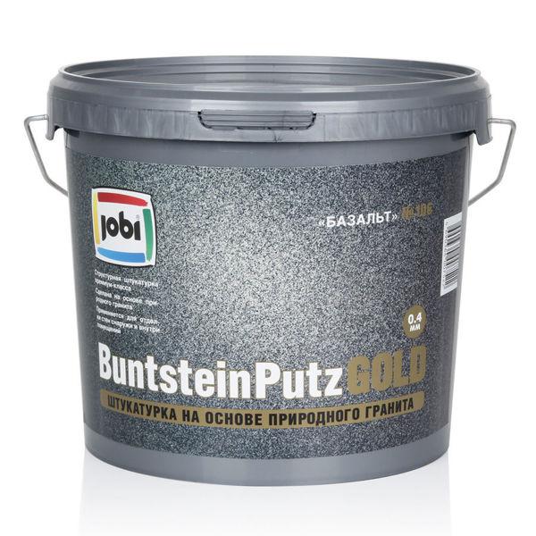 JOBI BuntsteinPutz GOLD – декоративная штукатурка на основе гранита