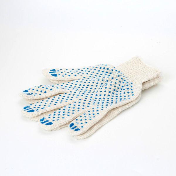 Изображение Перчатки трикотажные из хлопчатобумажной пряжи