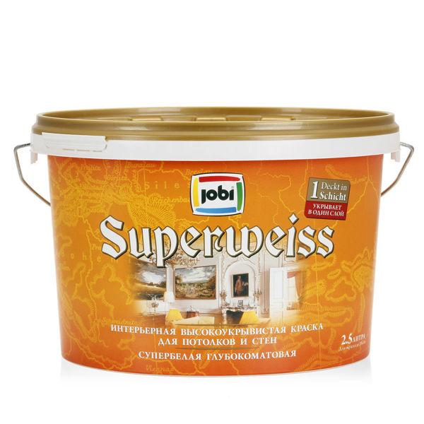 JOBI Superweiss – superbelaya inter'ernaya kraska