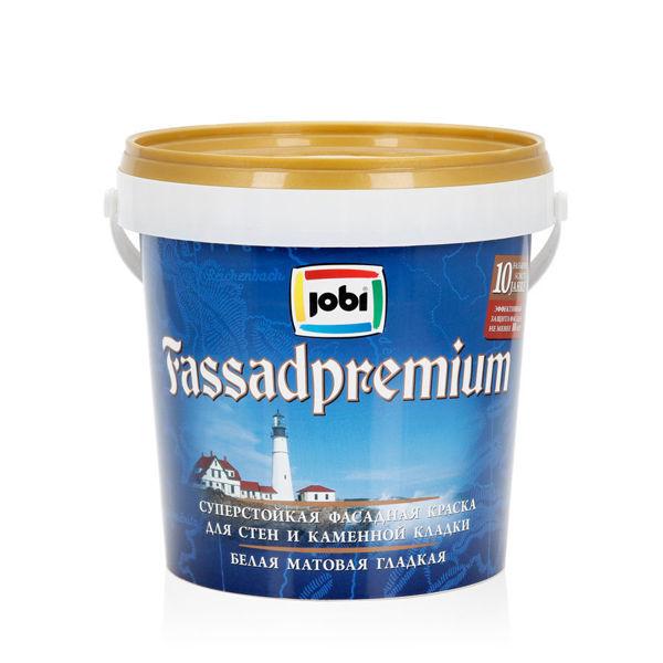 JOBI FassadPremium – superstojkaya fasadnaya kraska